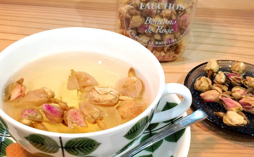 薔薇の蕾のお茶~Boutons de Rose FAUCHON〜